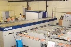 Geflügelhof Ludwig Waiblingen Packstelle frische Eier Maschine zertifiziert IFS