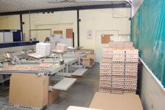 Geflügelhof Ludwig Waiblingen Packstelle frische Eier Verpackung