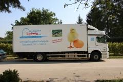 Geflügelhof Ludwig Waiblingen frische Eier LKW