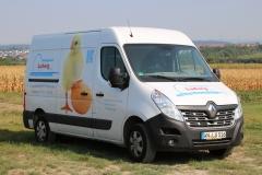 Geflügelhof Ludwig Waiblingen frische Eier Transporter Eier ausfahren